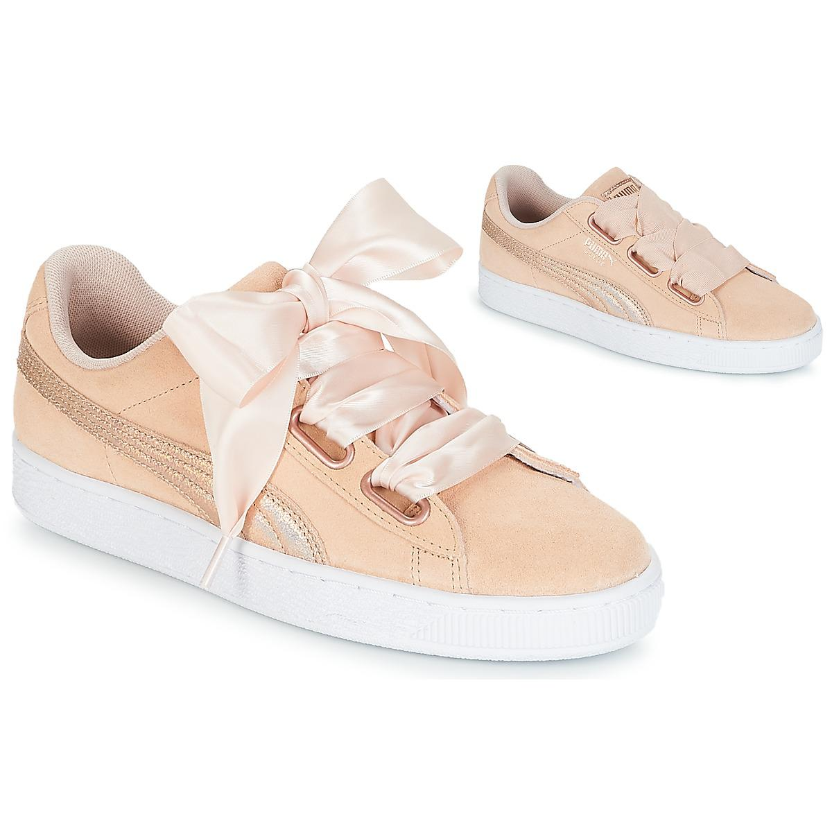 6b357ac4a98db4 PUMA Suede Heart Lunalux W s Shoes (trainers) in Pink - Lyst