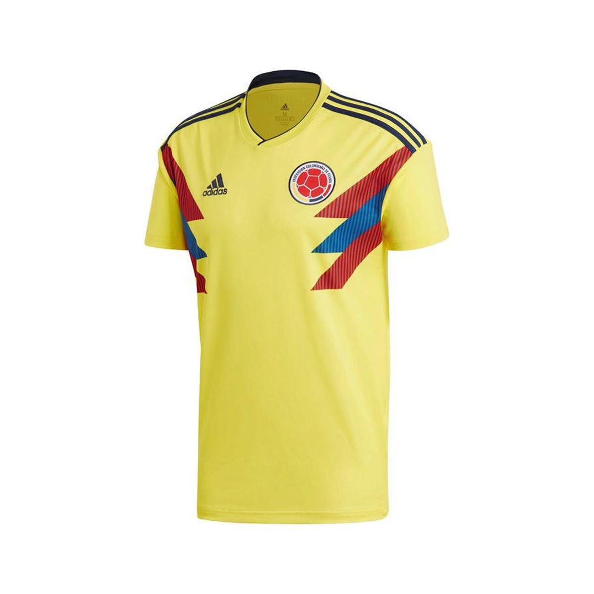 c6c0bbd4f6e Adidas - 2018-2019 Colombia Home Football Shirt Women s T Shirt In Yellow  for Men. View fullscreen
