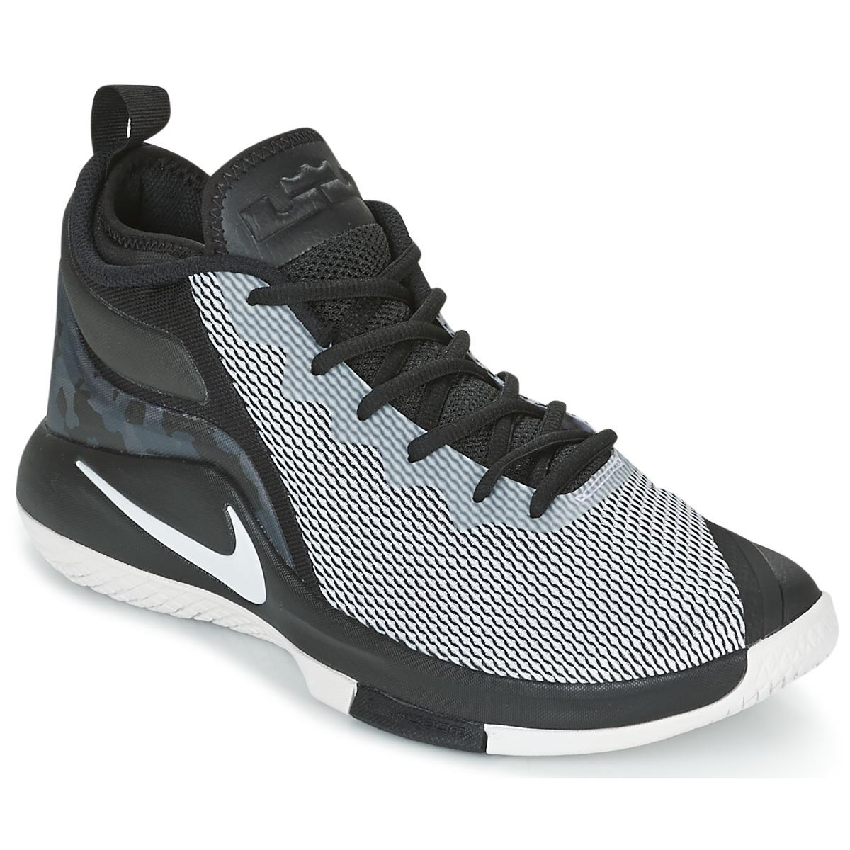 9db84c26472 Nike Lebron Witness Ii Men s Basketball Trainers (shoes) In Black in ...