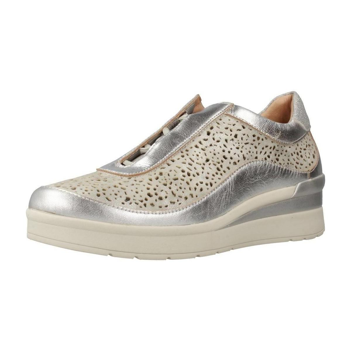 Stonefly - Damen - Cream 2 bis - Sneaker - silber gxIUEI4