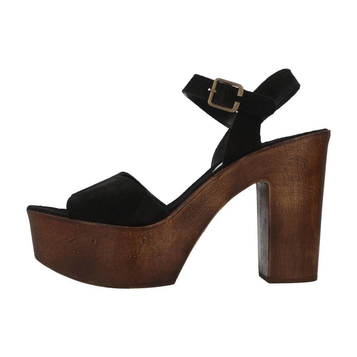 14ba07e2597 Steve Madden - Lulla Women s Clogs (shoes) In Black - Lyst. View fullscreen
