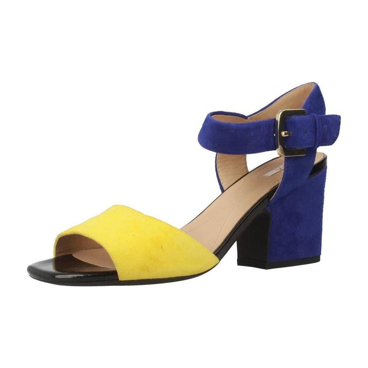 10efeb3b1f4 Geox D Marilyse Women's Sandals In Blue in Blue - Lyst