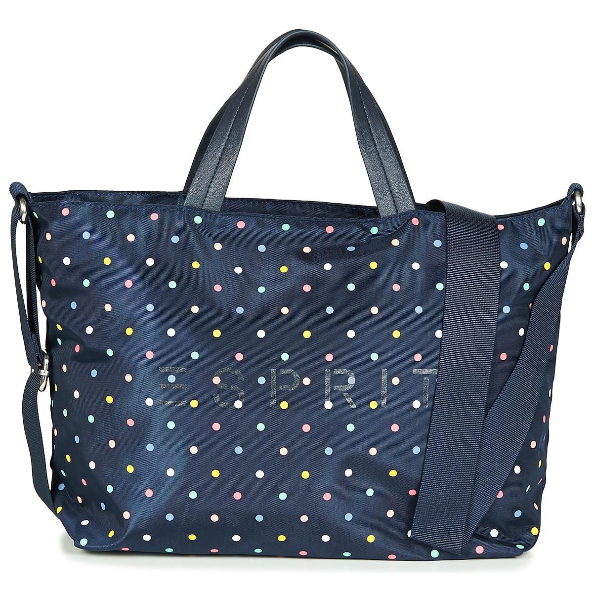 a0032eb2dd Lyst - CLEO CITY BAG femmes Sac à main en bleu Esprit pour homme en ...