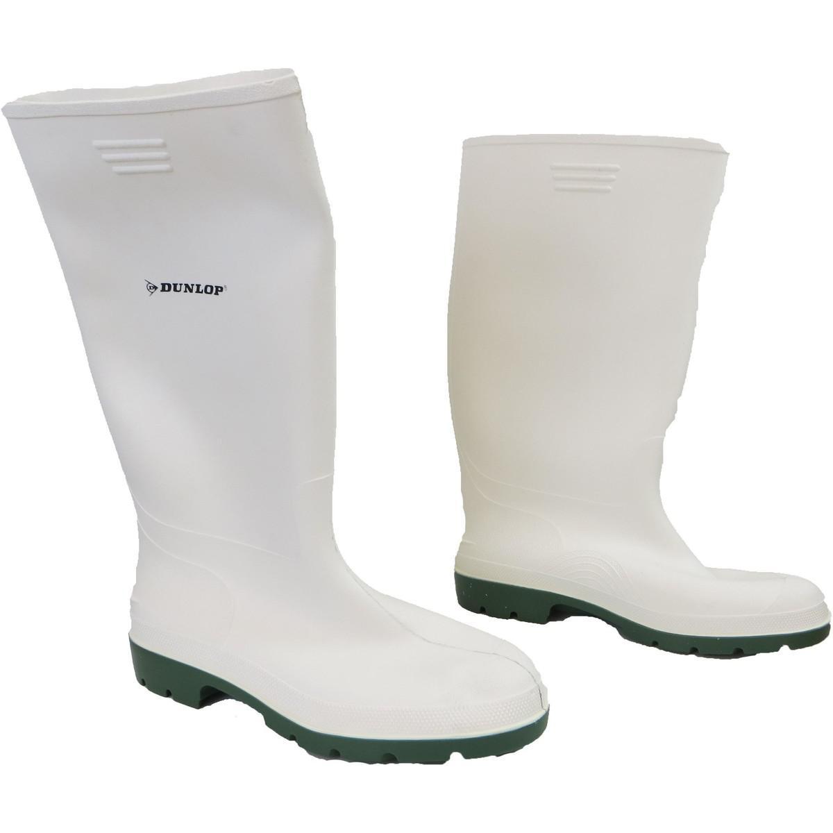 acd2697b30d Dunlop Pricemastor Men s Wellington Boots In White in White for Men ...
