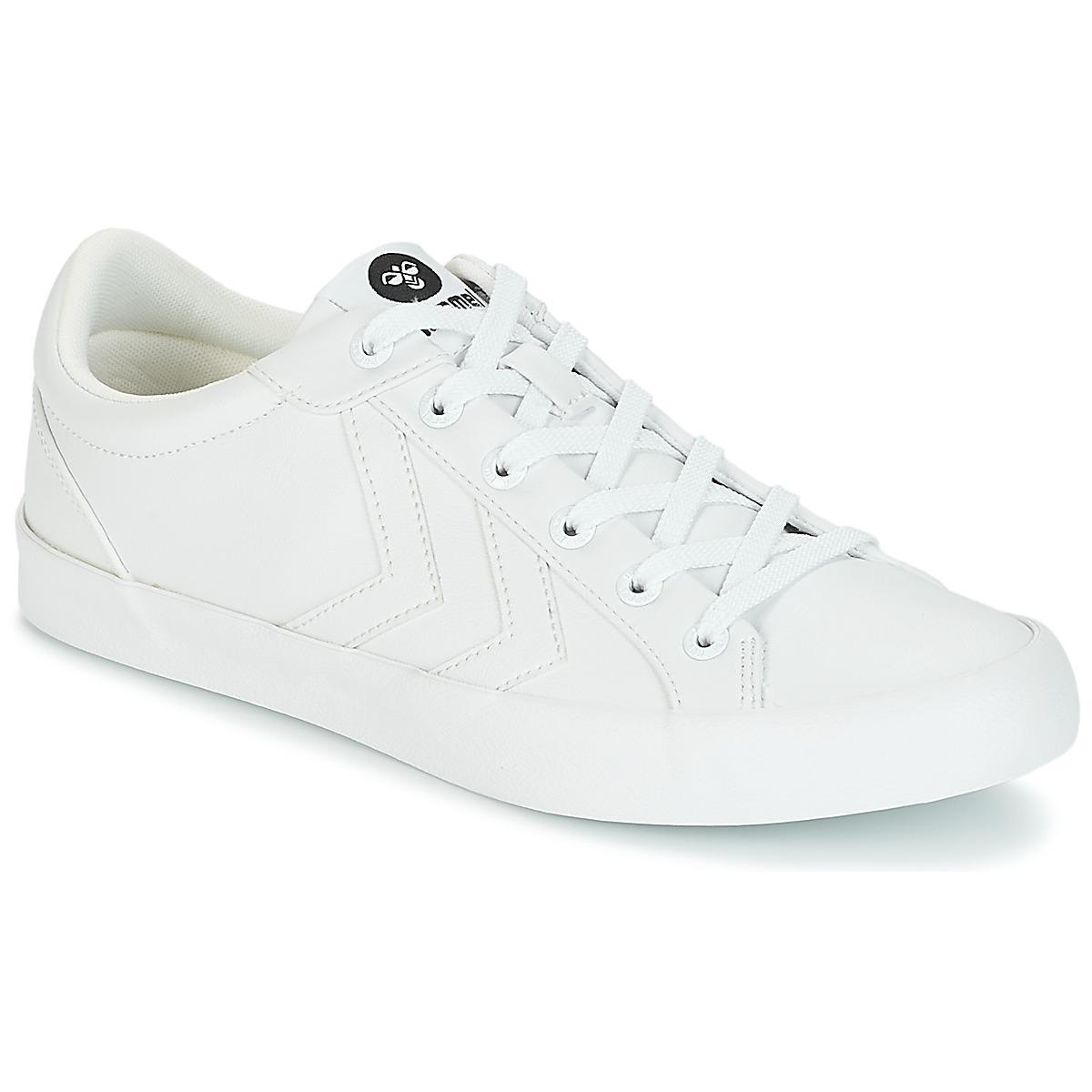 Hummel  Deuce Court Tonal Men's Shoes trainers In White