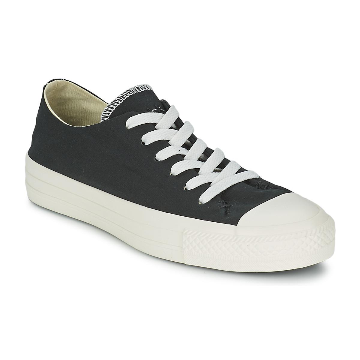 fb6c3744baaf Converse All Star Sawyer Ox Men s Shoes (trainers) In Black in Black ...