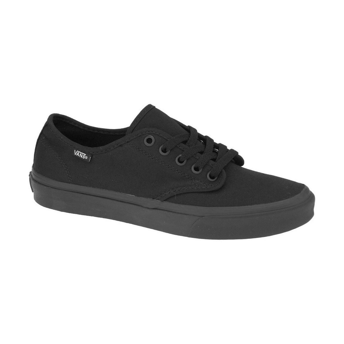 698f3fcd8511 Vans Camden Stripe W Women s Skate Shoes (trainers) In Black in ...