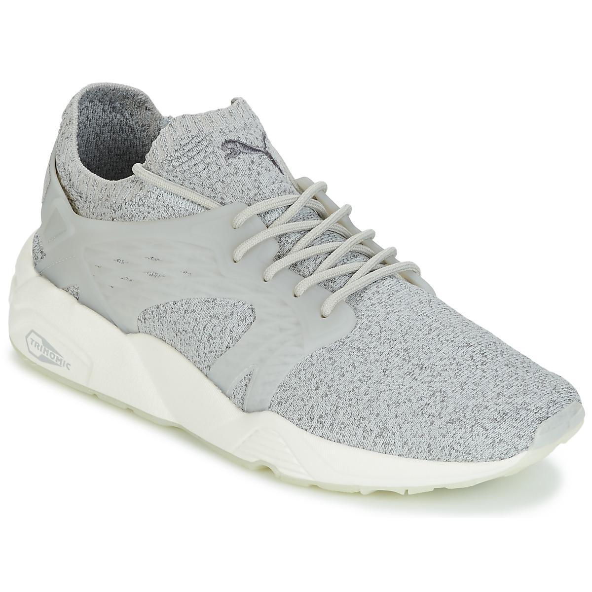 317f7d7dd98 PUMA Blaze Cage Evoknit Shoes (trainers) in Gray for Men - Lyst