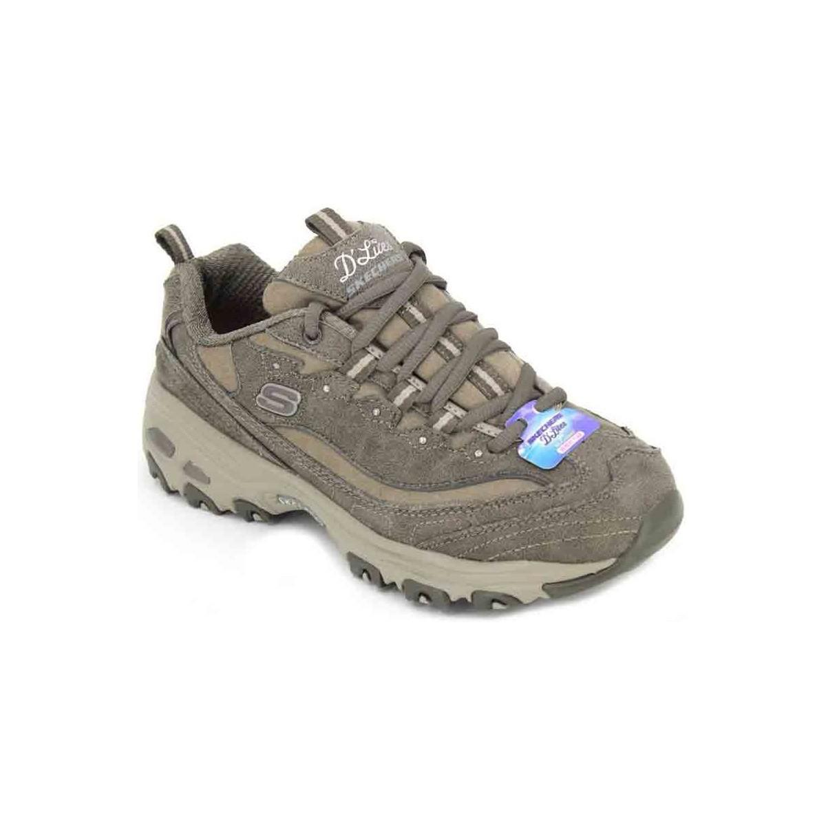 dceddafecf8f Skechers. Natural D lites New School 13085 Women s Trainers Women s Shoes  (trainers) In Beige