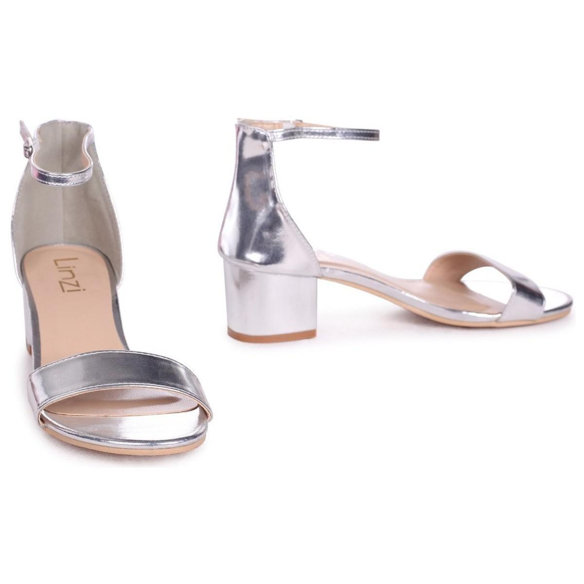 cd028cd73fb Linzi Nadine Women's Sandals In Silver in Metallic - Lyst