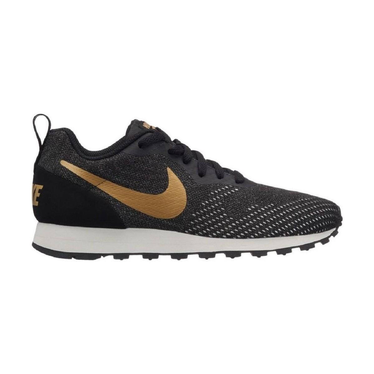 huge selection of 1f55a 9b7dd Nike. Md Runner 2 Eng Mesh 916797 007 Women s Shoes (trainers) In Black