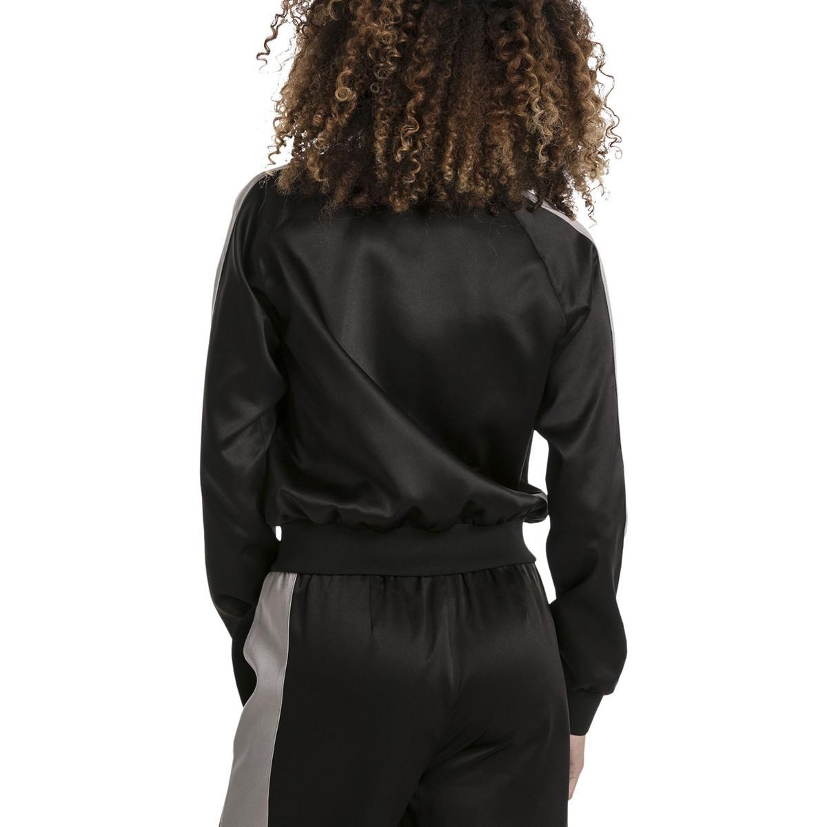Puma Noir Lyst Veste Jacket femmes PT Noir coloris EN Satin en en wC6w8Tq