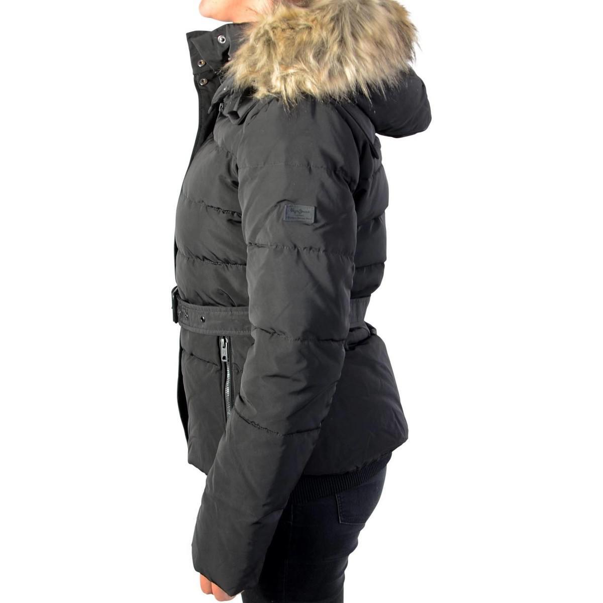 9410a7c8edfa Pepe Jeans Jacket Claris Pl401256 Black 999 Women s Jacket In Black ...
