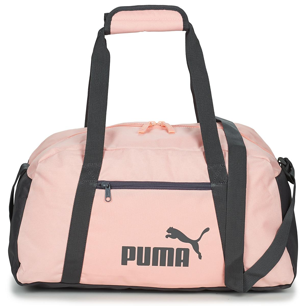 54f710062f PUMA - Pink PHASE SPORT BAG femmes Sac de sport en rose for Men - Lyst.  Afficher en plein écran