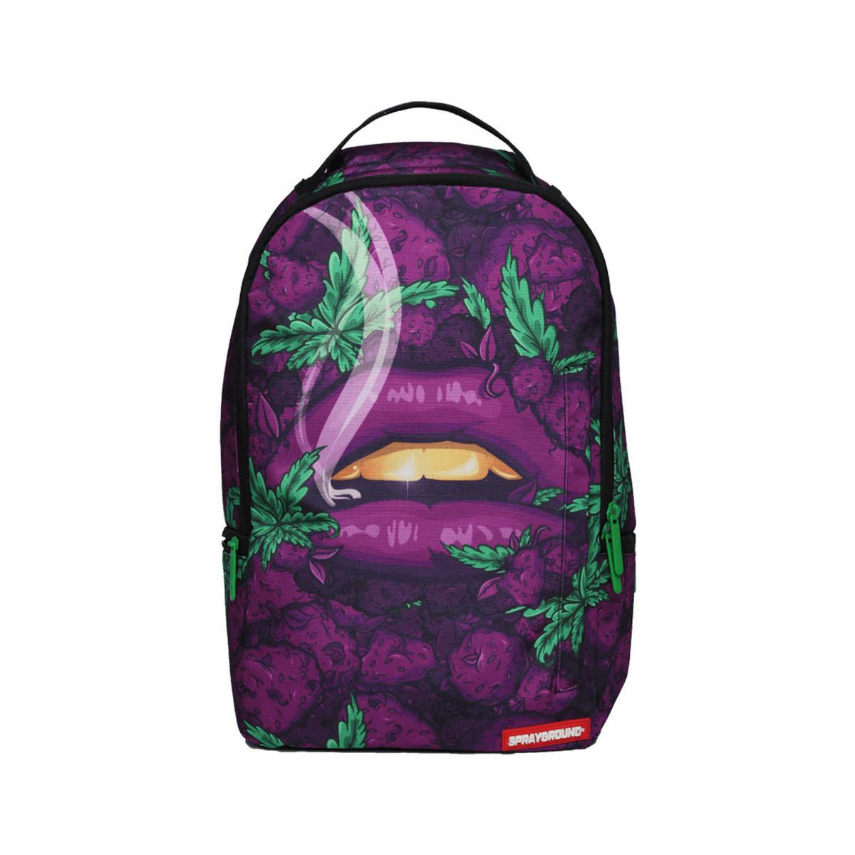 Sprayground Queen Indica Backpack - Purple Men s Shoes (trainers) In ... 86624d2f9d5d5