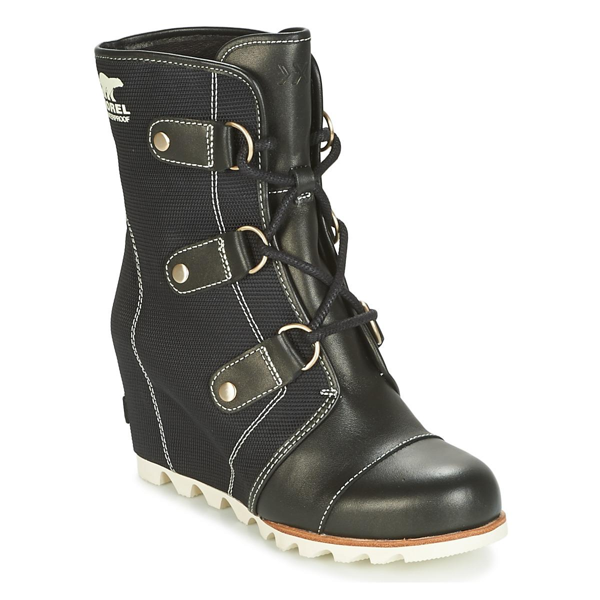 21118794a5df Sorel. Joan Of Arctic Wedge Mid X Celebration Women s Snow Boots In Black