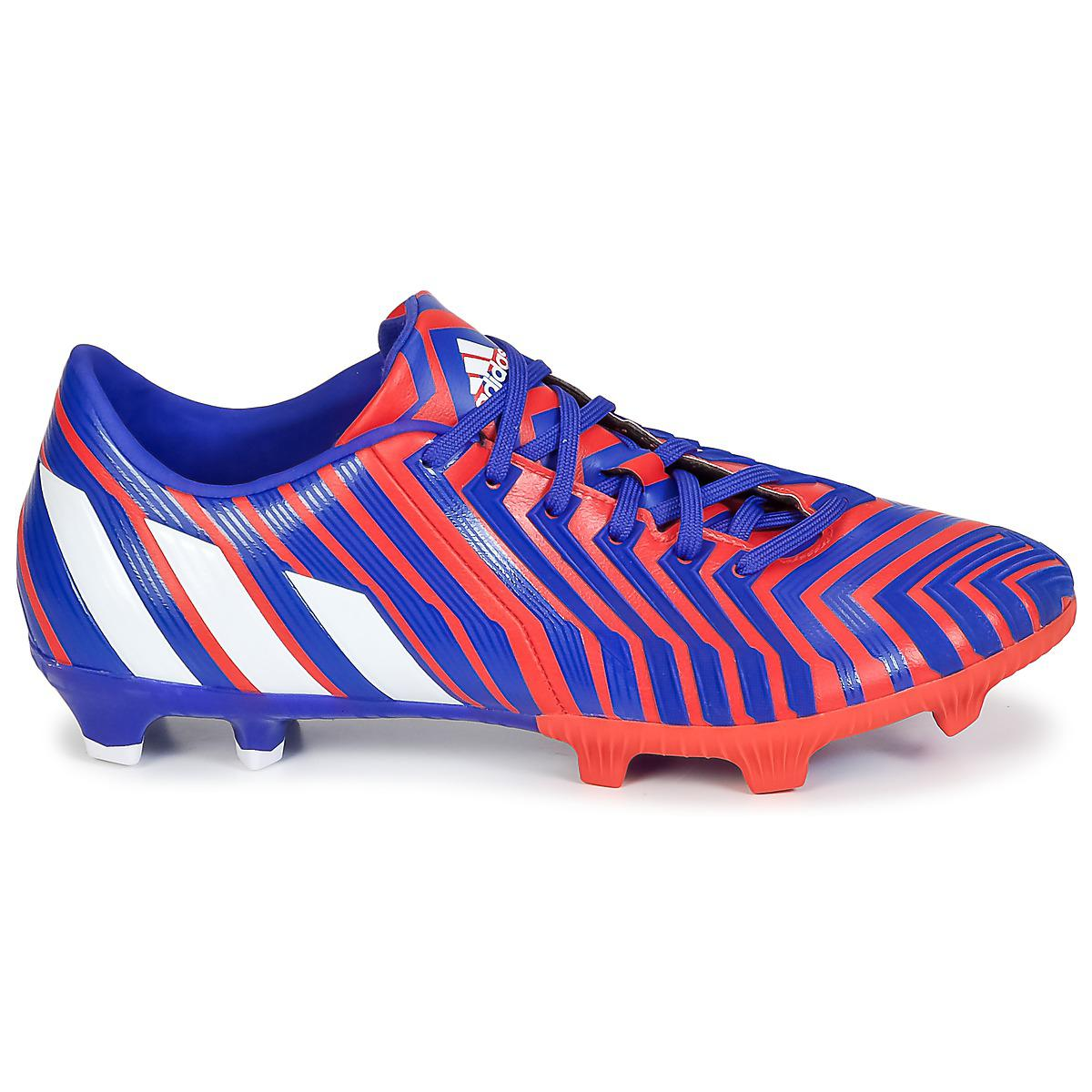 low priced 5ae0a ac155 Adidas - Blue P Absolion Instinct Fg Football Boots for Men - Lyst. View  fullscreen