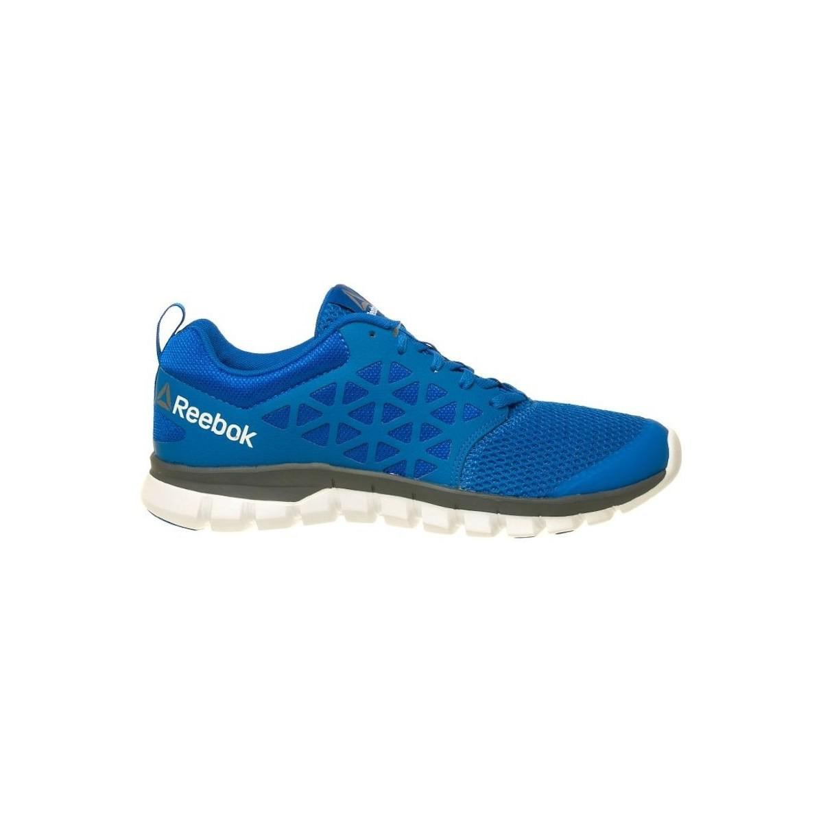 Reebok - Sublite Xt Cushion Men s Running Trainers In Blue for Men - Lyst.  View fullscreen fc8927f52
