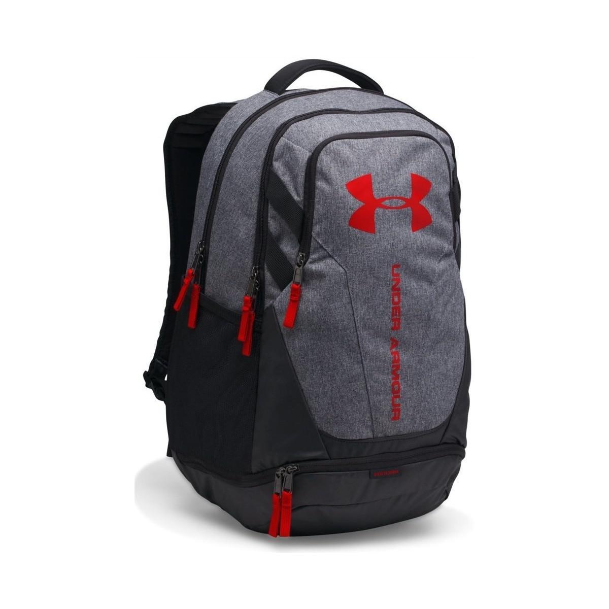 Under Armour Hustle 3.0 Backpack in Black for Men - Lyst 2456bedab98f8