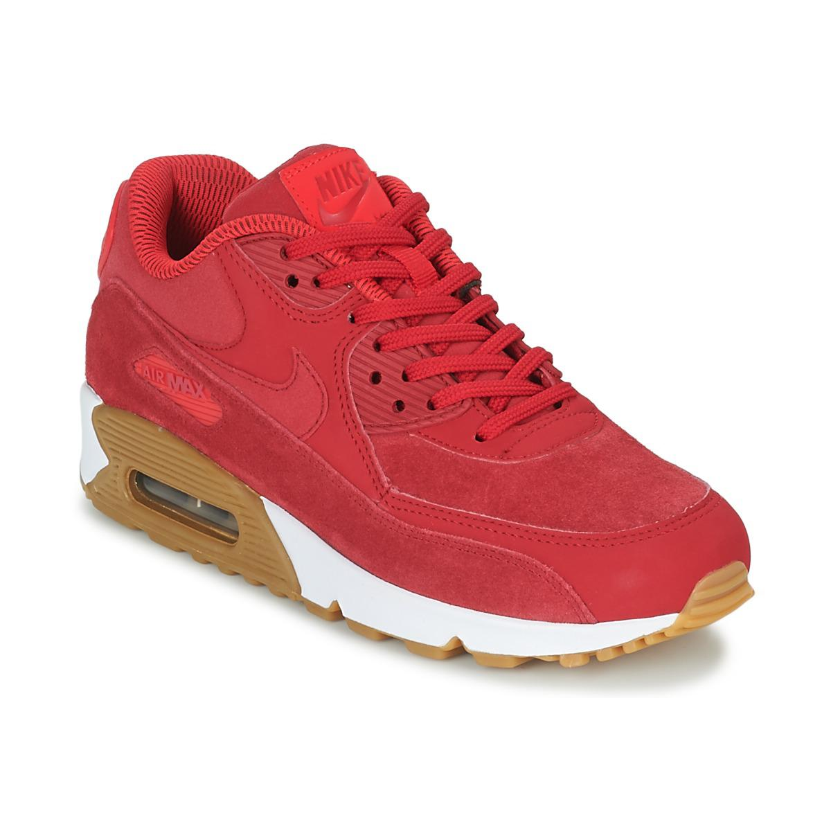 red air max trainers