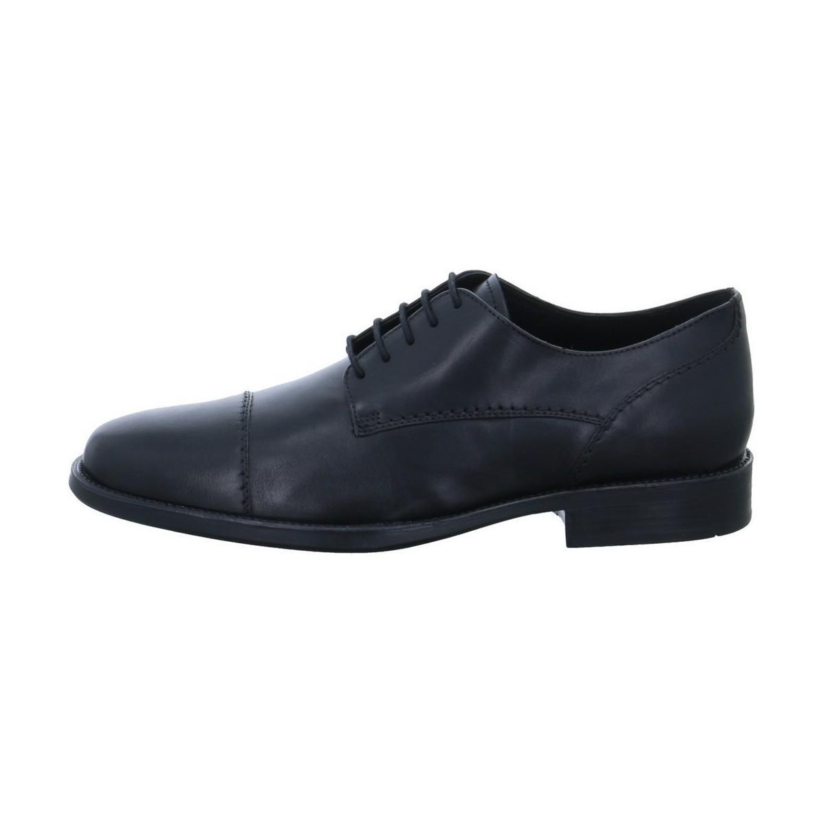 Geox  U7257a Men's Smart|Formal Shoes In Black