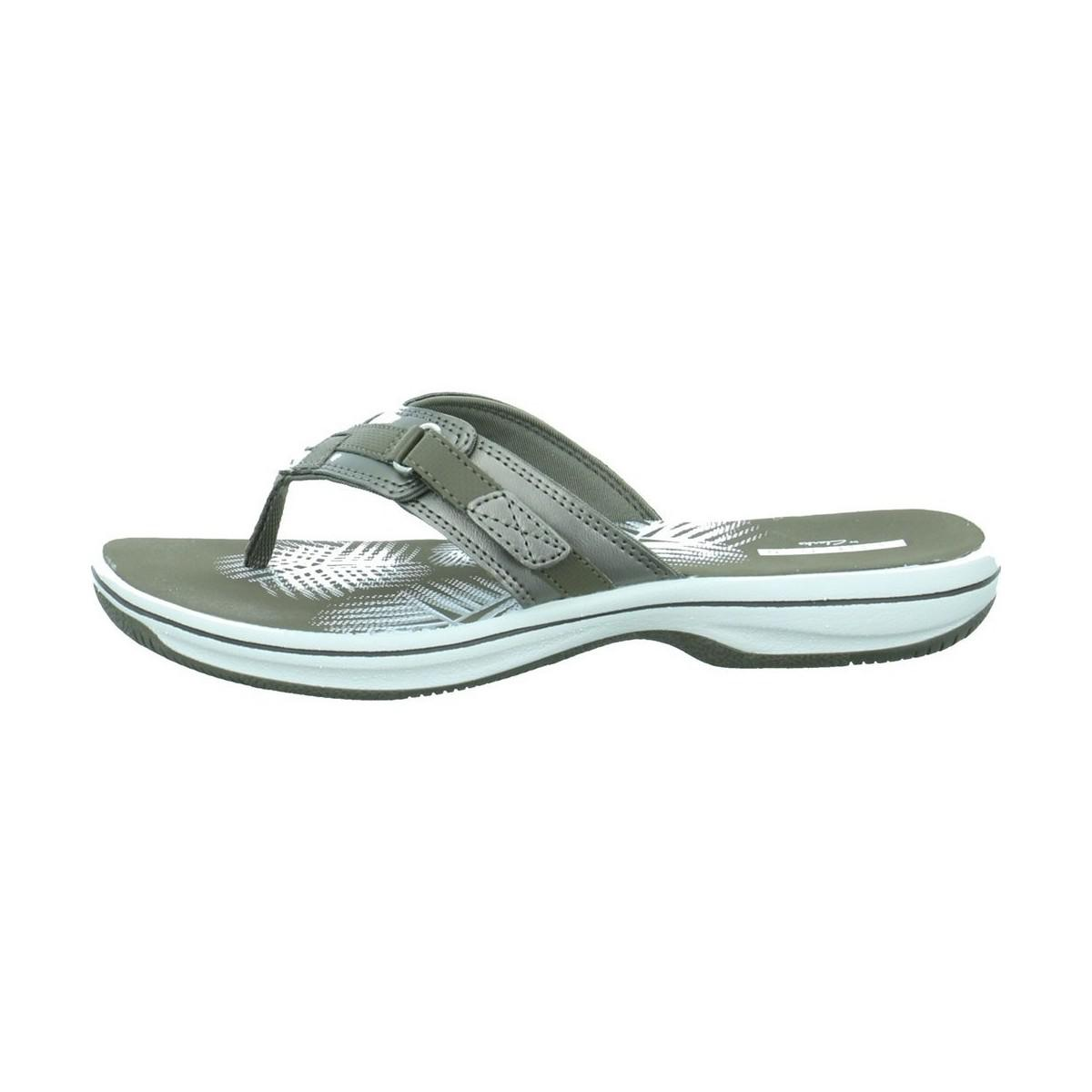 27ad4b3b94f9 Clarks Brinkley Sea Women s Sandals In Gold in Metallic - Lyst