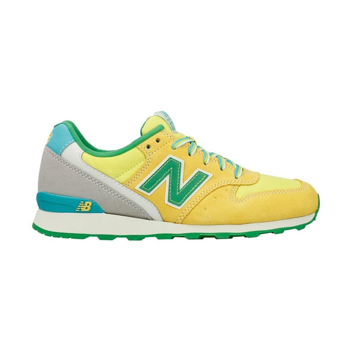 New Balance | Wr996dba Women's Shoes (trainers) In Green | Lyst. View  Fullscreen