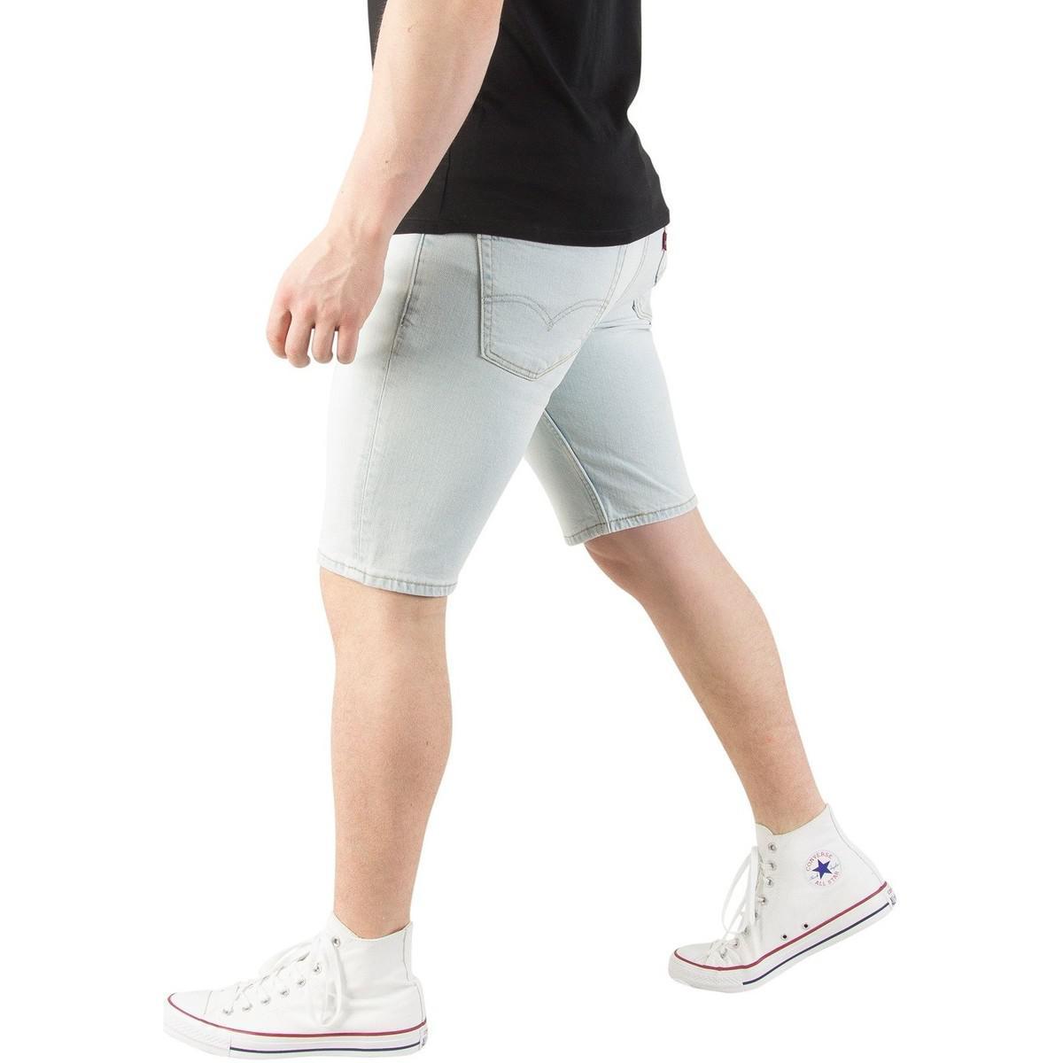 d6fe09d4a2 Levi's Levis Men's 511 Slim Hemmed No Place Like Home Denim Shorts ...