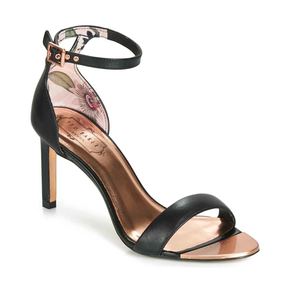 dd9ada58b Ted Baker Ulanii Women s Sandals In Black in Black - Lyst