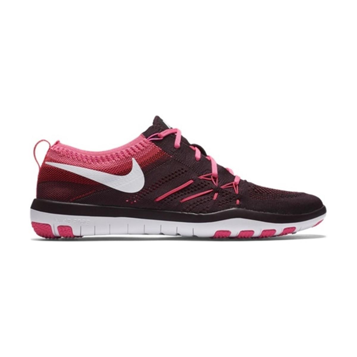 d97458490844 Nike Free Focus Flyknit Women s Shoes (trainers) In Black in Black ...