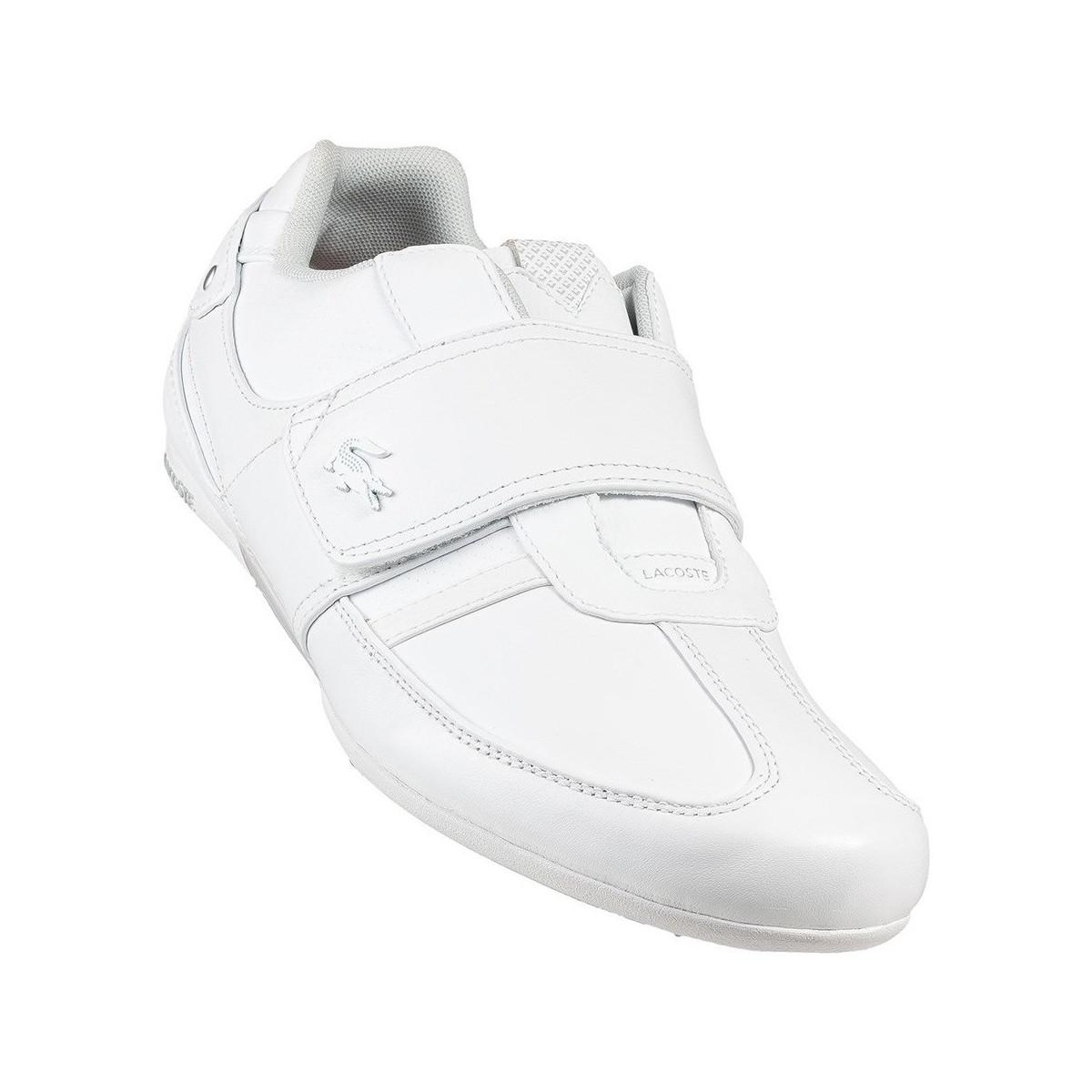 da505bc4308fb6 Lacoste Protected Prm Us Spm Men s Shoes (trainers) In White in ...