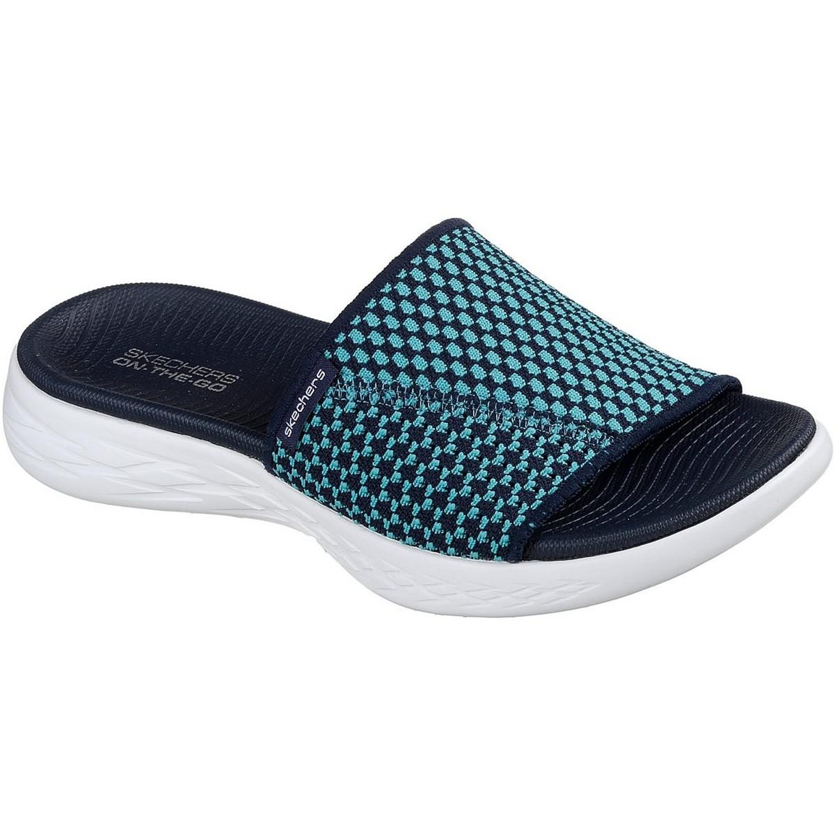 f68c2aa58326 Skechers On The Go 600 Nitto Ladies Summer Navy blue Trainers in ...