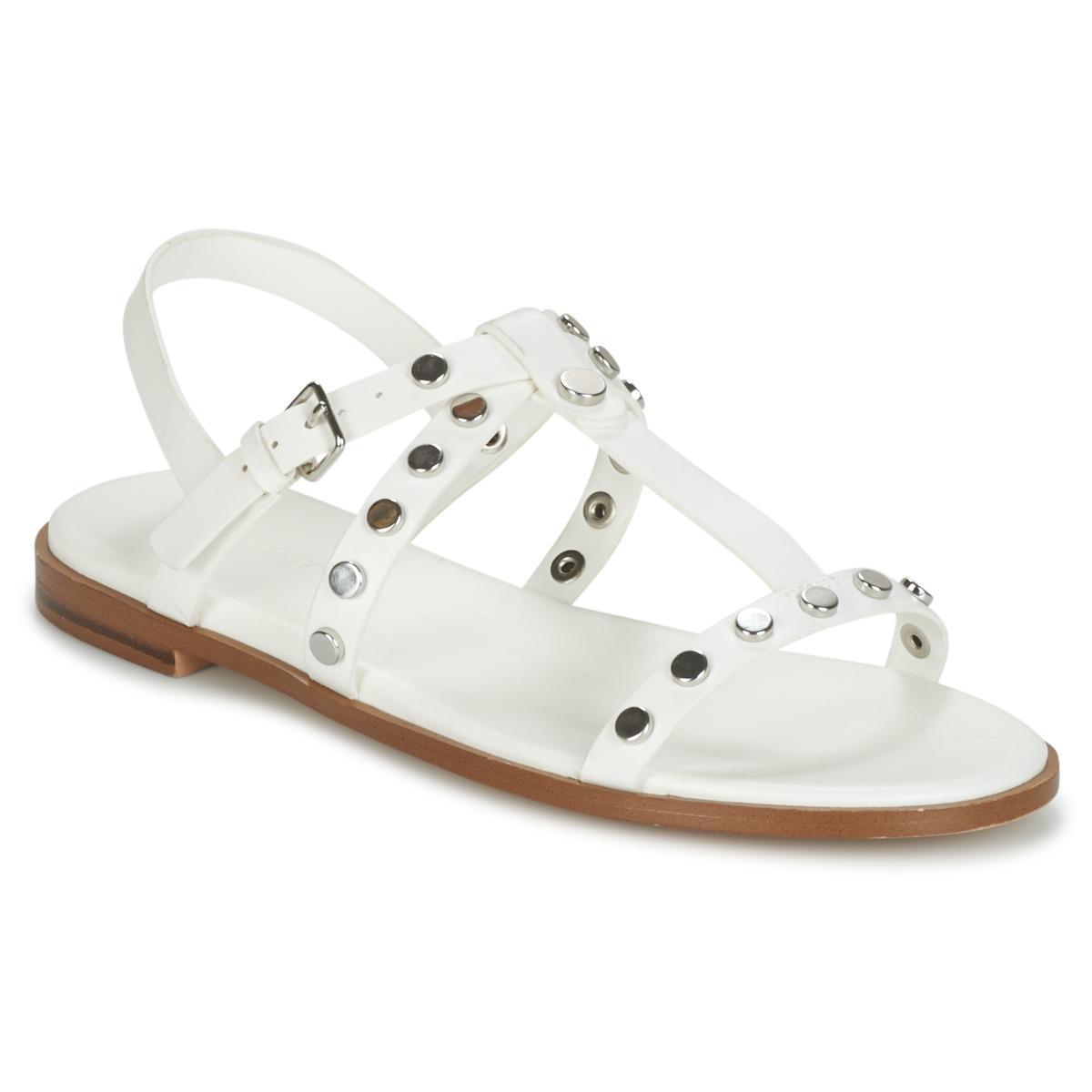 55aabe398 Esprit Arisa Women s Sandals In White in White - Lyst