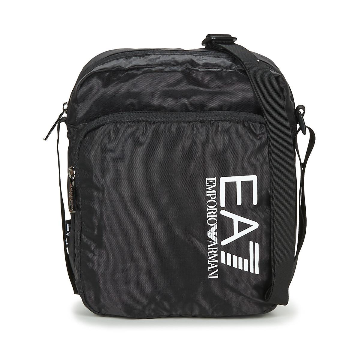 f37908cc7b8b EA7 Train Prime U Pouch Bag Large B Men s Pouch In Black in Black ...