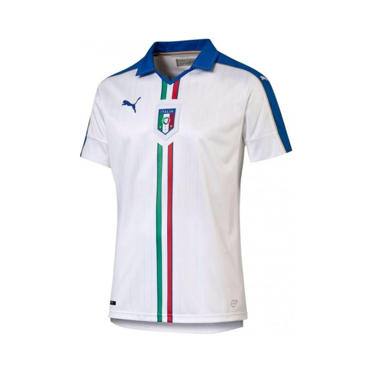 66a1b8217c Puma 2015-16 Italy Away Shirt (cannavaro 5) - Kids Men s T Shirt In ...