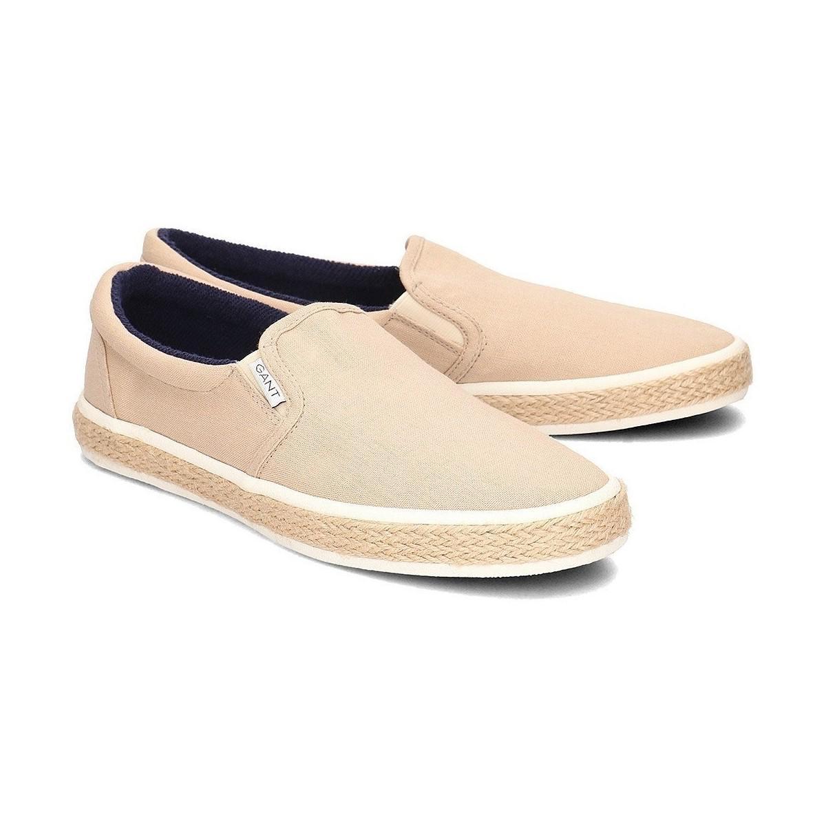 2c93f363fb GANT Master Men's Espadrilles / Casual Shoes In Beige in Natural for ...