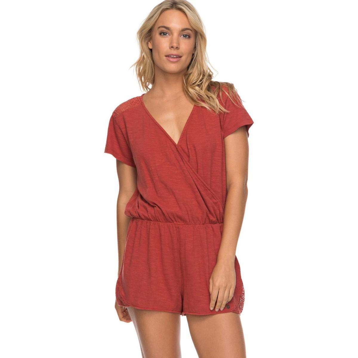 058d2c1046 Roxy Top Erjkd03168-npq0 Mono Rojo Women s Jumpsuit In Red in Red - Lyst