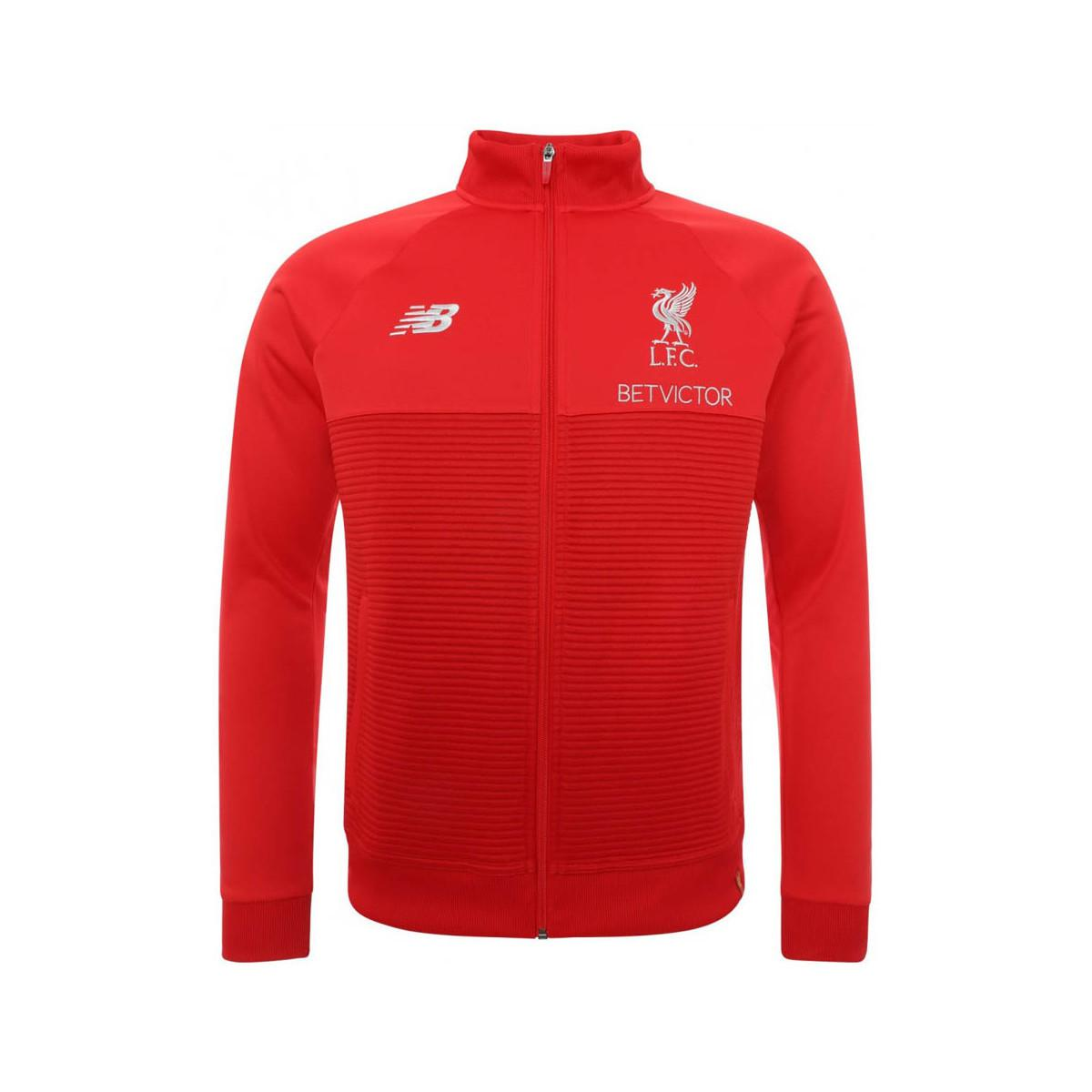 ac0fc87be97af New Balance 2018-2019 Liverpool Elite Training Walkout Jacket Men's ...