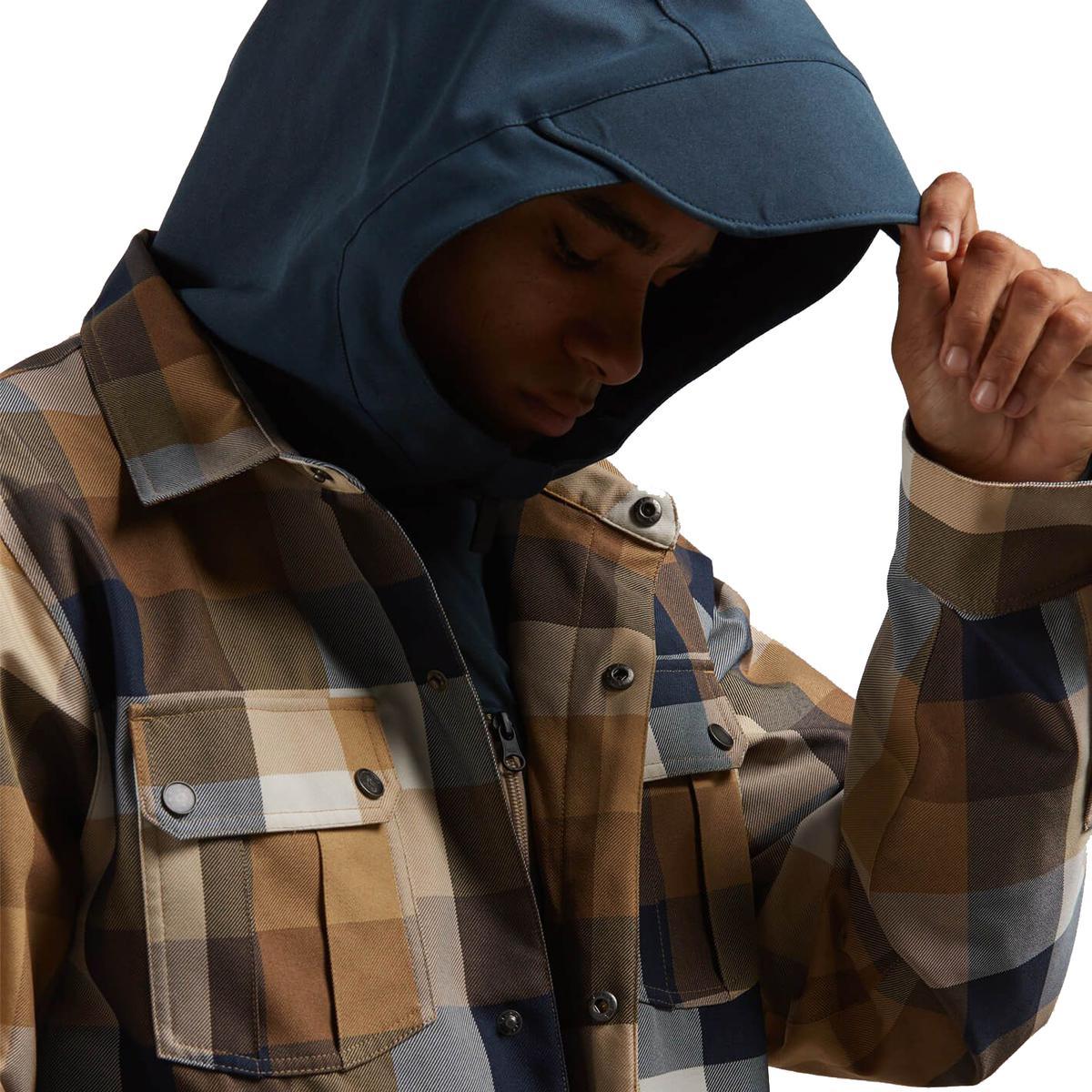 Homme Pour Volcom Creedle2stone Hommes Jacket Lyst Veste En