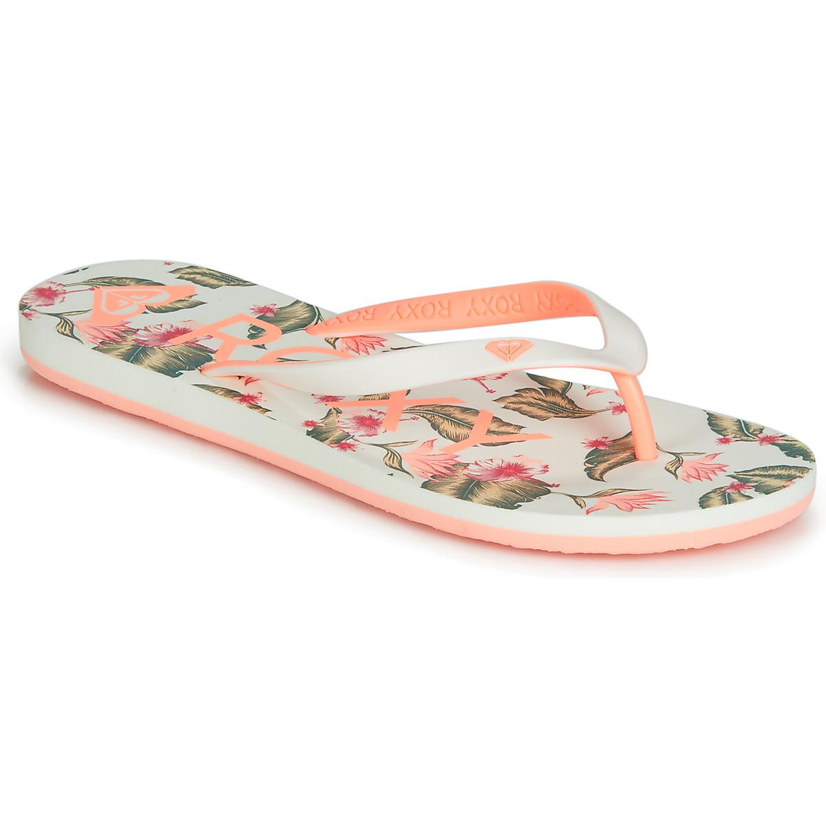 da12cda95b73da Roxy. Tahiti Vi J Sndl Gsw Women s Flip Flops   Sandals (shoes) In White