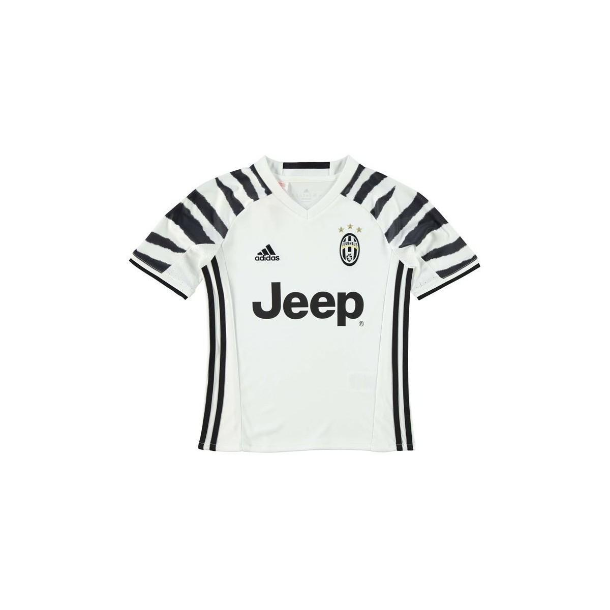 newest 379fb bf0e1 Adidas - 2016-17 Juventus 3rd Shirt (marchisio 8) - Kids Women's T Shirt In  White - Lyst