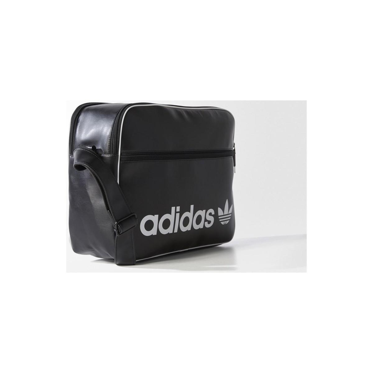 6092b1dbfc Adidas Originals - Black Vintage Airliner Bag Women s Shoulder Bag In  Multicolour - Lyst