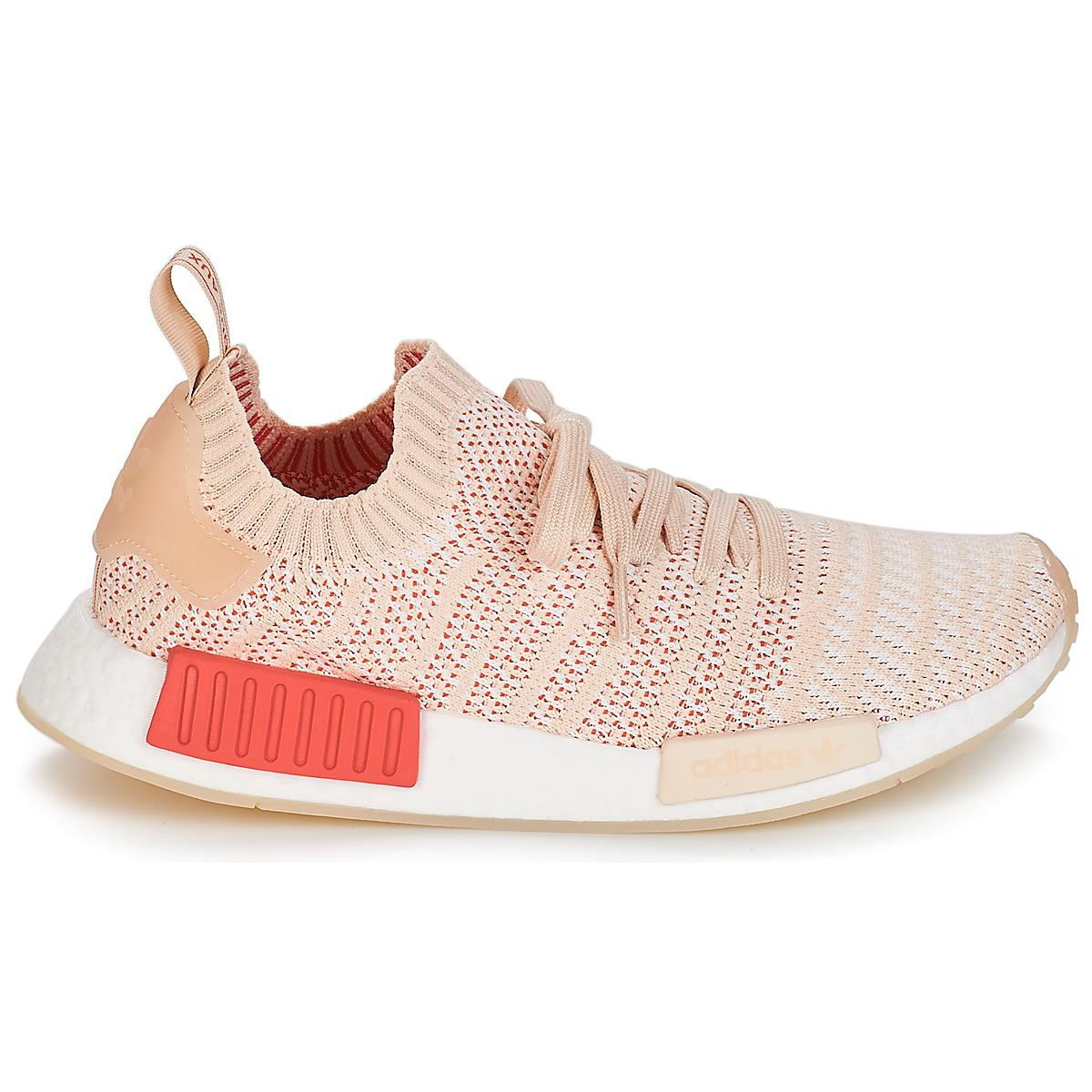 41e23514d1e80 Adidas - Pink Nmd R1 Stlt Pk W Women s Shoes (trainers) In Multicolour -.  View fullscreen