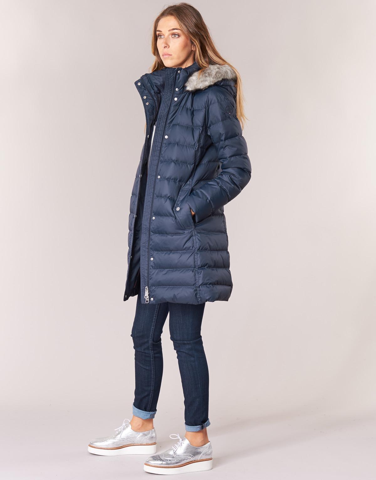7e7869b7fbcc Tommy Hilfiger Tyra Down Coat Women s Jacket In Blue in Blue - Lyst