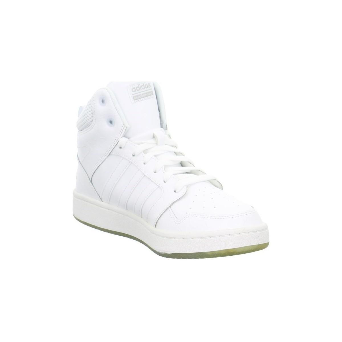 official photos 99a52 728a5 adidas Cloudfoam Super Hoops Mid Sneaker Mens Shoes (high-to
