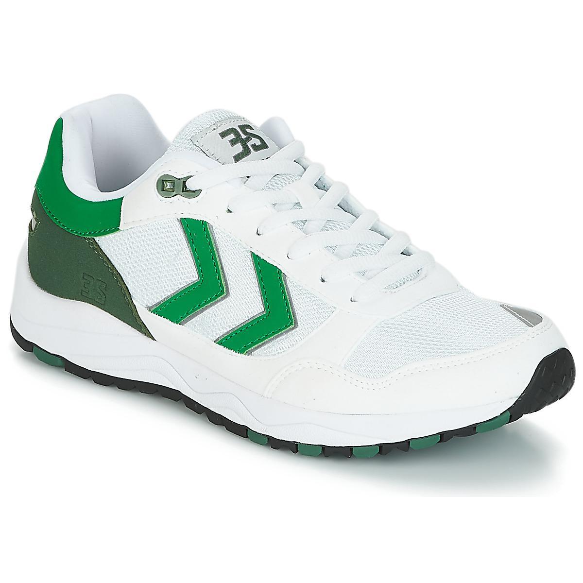 Hummel. Women's White 3-s Sport Shoes ...