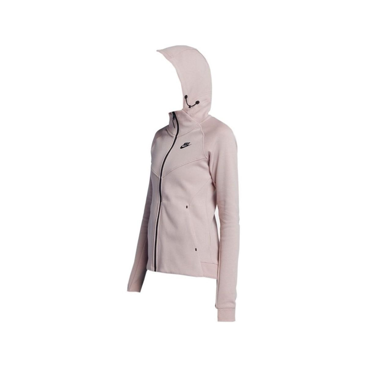 feb56006b92c0 Nike Wmns Nsw Tec Fleece Windrunner Women s Sweatshirt In Pink in ...