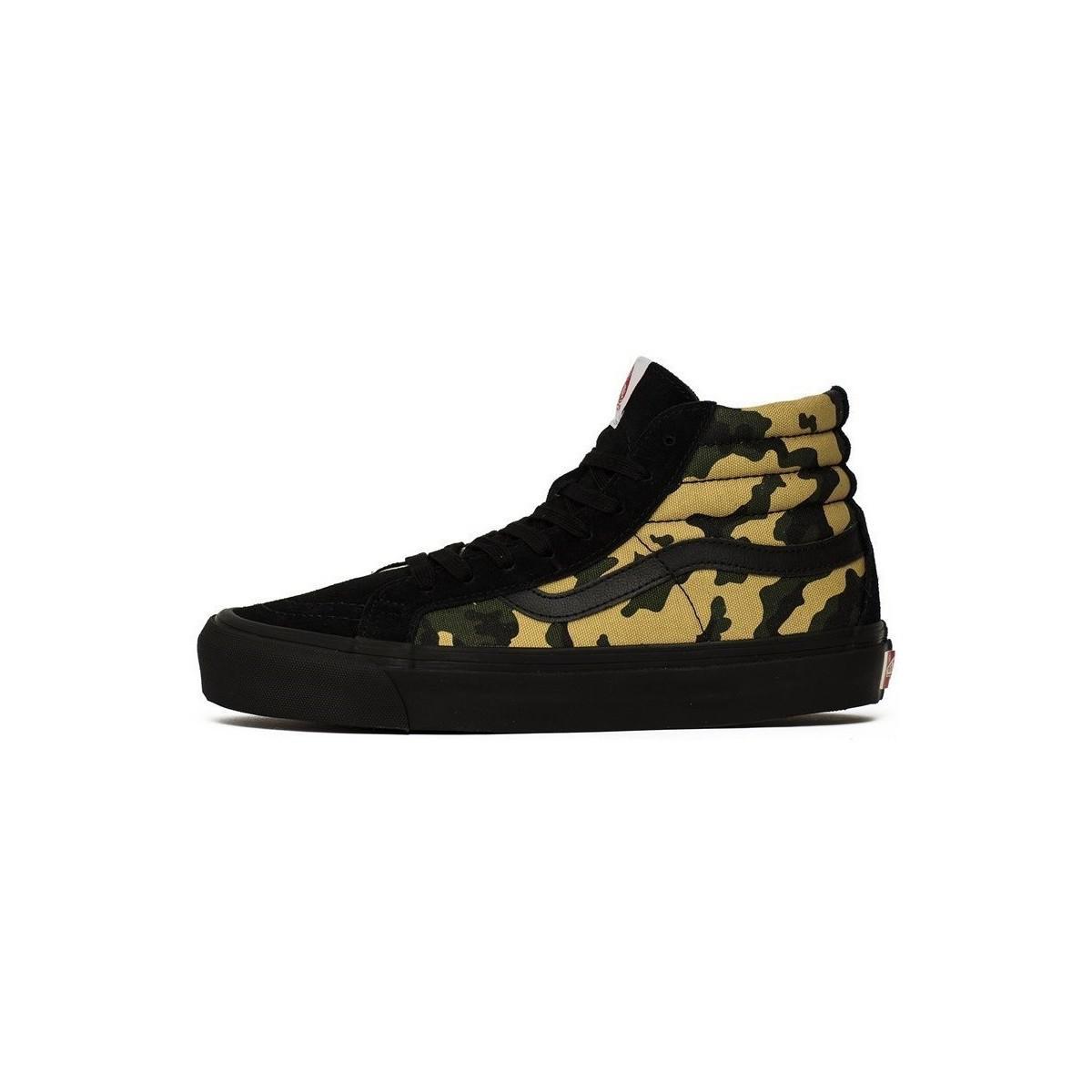 Vans Vault Og Sk8hi Lx Men s Shoes (high-top Trainers) In Black in ... 76571d798