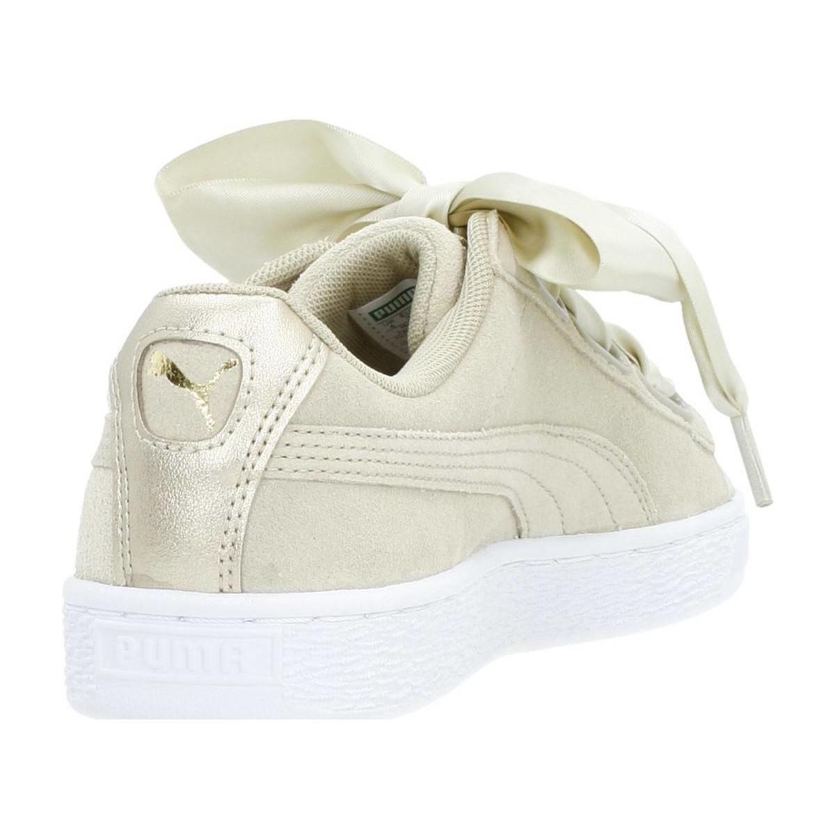 2dc876b9057 PUMA Suede Heart Safari Wn 039 s Women s Shoes (trainers) In Beige ...