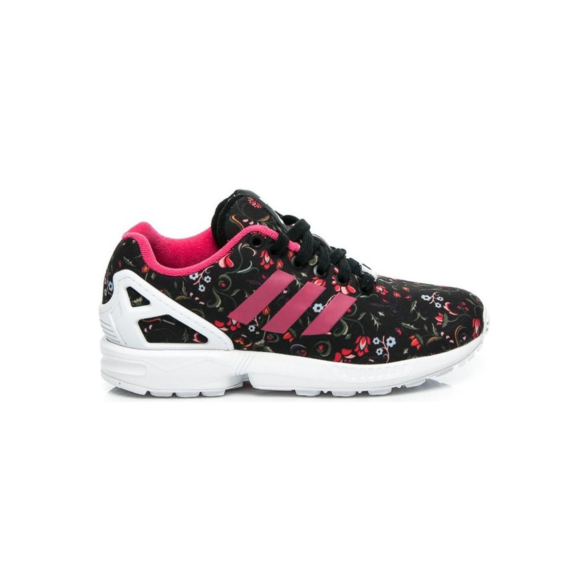flower adidas trainers